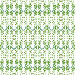 Olive seamless vertical ornament. Olive branches seamlessly tiled pattern with laurels. Made by means of openclipart.org elements.
