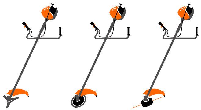 Motoculture, débroussailleuses - orange