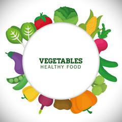 Vegetables icon design