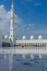 Fotobehang Dubai Grand Mosque Sheikh Al Zayed in Abu Dhabi