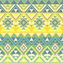 seamless pattern in ethnic style of the American Indians, vector background