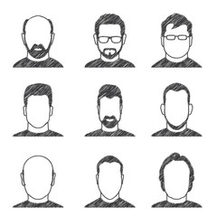 9 Männer, Frontansicht