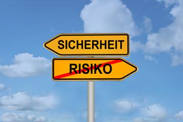 Sicherheit Risiko