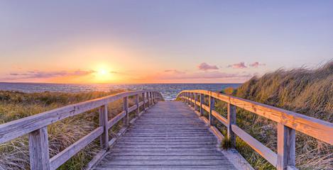 Fototapete - Strand Sommer Sonne Urlaub