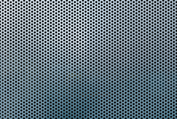 Metal grid abstract pattern and texture