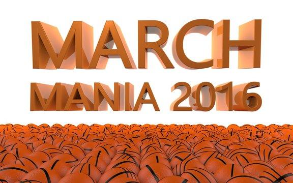 March Mania Basketball Tournament