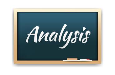 Analysis Chalkboard