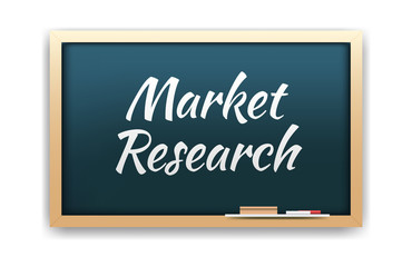 Market Research Chalkboard