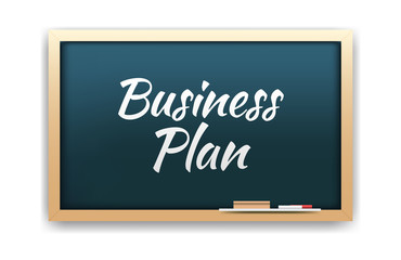 Business Plan Chalkboard