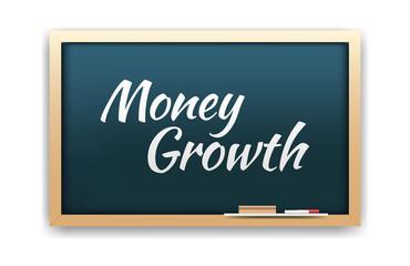 Money Growth Chalkboard