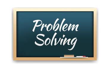 Problem Solving Chalkboard