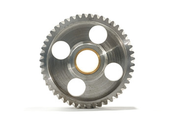 gear wheel with slanting tooth