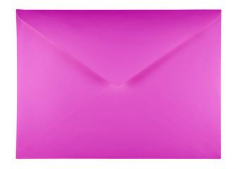 Blank envelope - violet