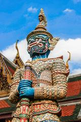 Poster Bangkok Wat Phra Kaew in Bangkok - Temple of Emerald Buddha