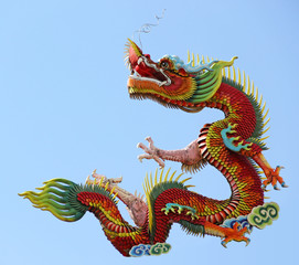 Dragon statue Chinese style