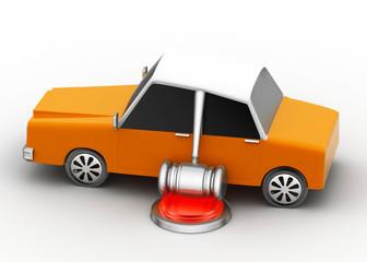 Vehicle law concept