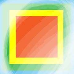 color border frame deco art simple line corner