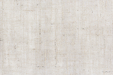 Natural sackcloth texture or background.