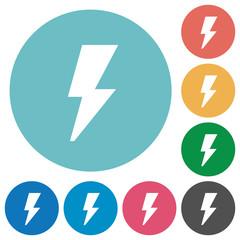 Flat flash icons