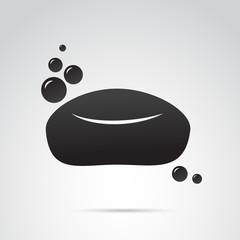 Soap vector icon.