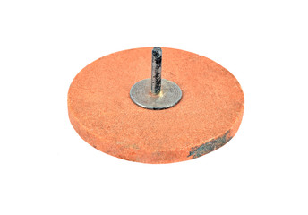 Old grinding disc