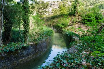 Hidden small canal