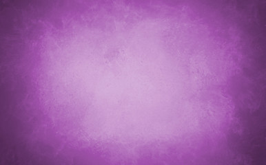 vintage purple background image with distressed textured vignette borders and soft pastel center color, large solid violet purple background design