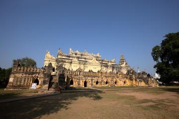 Maha Aung Myi Bon Zan Tempel von Inwa in Myanmar