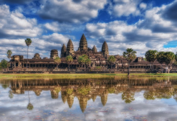 SIEM REAP, CAMBODIA. Angkor Wat Temple