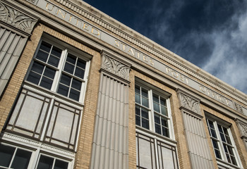Historic Post Office building in downtown Bend, Oregon