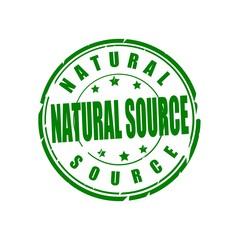 Natural source vector stamp
