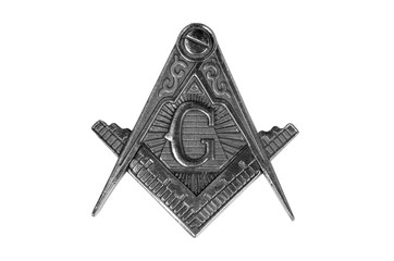 freemasonry medal  square & compass