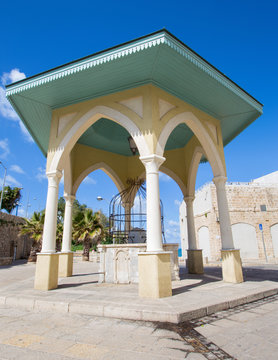 Tel Aviv - The stone well in old Jaffa