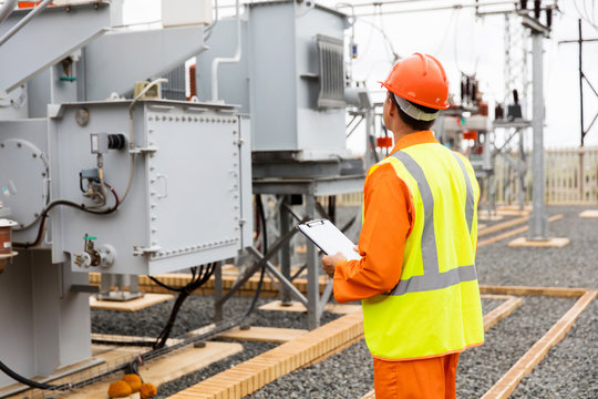 electricity company substation worker