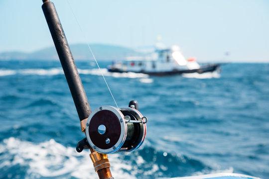 Fishing trolling in the Andaman Sea