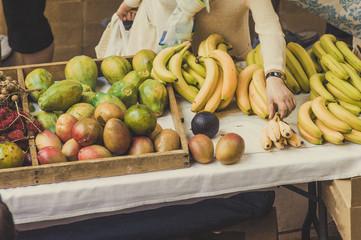 果物,食料品店,市場,