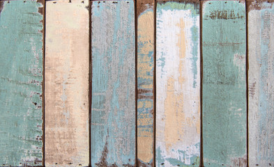 Old color wood plank texture