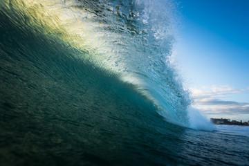 Ocean Wave Barrel Wall mural