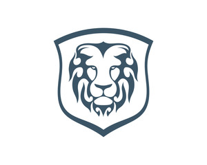 Lion logo icon vector
