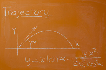 Trajectory Curve