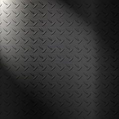 Metal diamond plate background