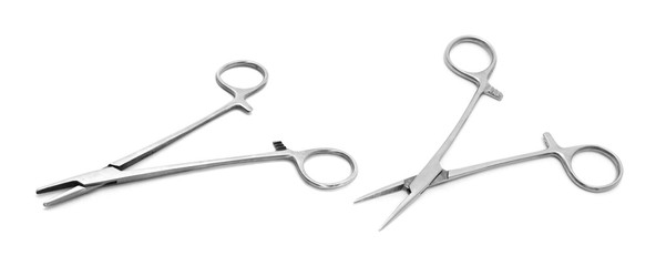 Medical,Surgical tool on a white background