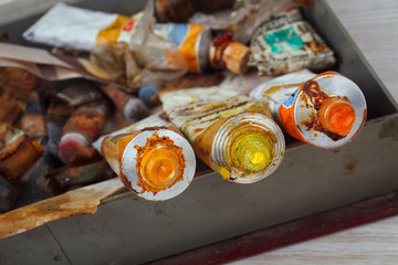 Old Paint tubes