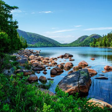 Jordan Pond Acadia National Park