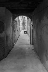 ciemna uliczka