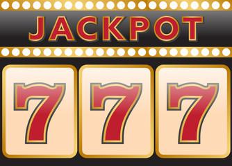 Lucky seven jackpot