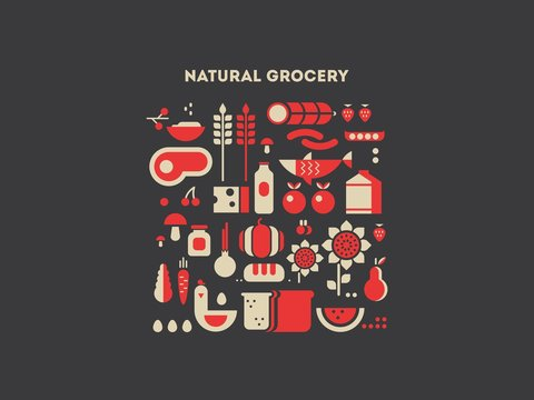 Natural grocery food