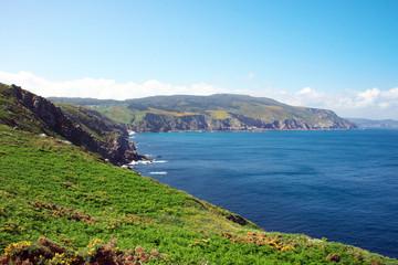 Atlantikküste am punta de bares galicien