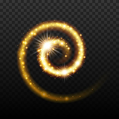 Magic light effect shiny spiral background.