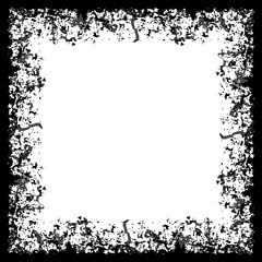 Square grunge frame